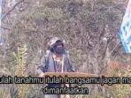 Beredar Video Panglima OPM Thitus Murib Kwalik Tak Tahan Hidup di Hutan dan Pilih Gabung ke NKRI