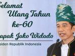 Presiden Jokowi Ulang Tahun ke-60, Jubir Sebut Tak Ada Agenda Khusus untuk Merayakannya