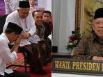 Unggah Foto Jokowi Sungkem kepada Ma'ruf Amin, Ustaz Yusuf Mansur Sebut Ini Momen Langka