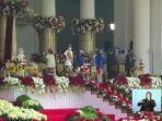 Foto-foto Upacara Peringatan Detik-detik Proklamasi Kemerdekaan RI, 17 Agustus 2021