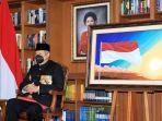Hadiri Upacara Peringatan HUT Ke-76 RI secara Virtual, SBY Pakai Baju Adat Teluk Belanga