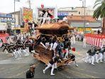 Dua Tahun Absen, Festival Budaya Jepang Kishiwada Danjiri Digelar Kembali tanpa Penonton