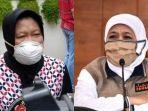 Tegaskan Wewenang Pusat Terkait Zonasi Covid-19, Khofifah Sentil Klaim Risma Soal Status Surabaya