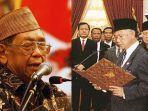 Awalnya Tak Dipercaya, Gus Dur Pernah Prediksi Habibie Jatuh dari Presiden, Tahu dari Karangan Bunga