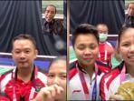 Jokowi Video Call Greysia Polii dan Apriyani Rahayu Ucapkan Selamat atas Medali Emas