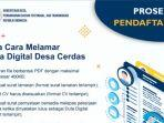 Kementerian Desa, PDT dan Transmigrasi Buka Seleksi Penerimaan Duta Digital untuk Lulusan Minimal D3
