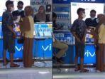 Viral Pasangan Bertengkar di Konter, sang Wanita Marah karena Minta iPhone, tetapi Dibelikan Vivo