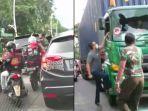 Viral Pengemudi Pajero Pecahkan Kaca Truk dan Aniaya Sopir di Tengah Jalan