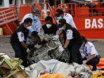 Fakta Hari ke-5 Pencarian Sriwijaya Air SJ182, Kotak Hitam Tertimbun Lumpur, Terhenti Akibat Cuaca