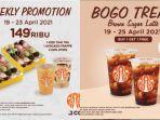 Promo JCO Hari Jumat, 23 April 2021: Ada 4 Lusin J.Pops dan 2 Minuman hanya Rp149 Ribu