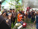 Ibu Eksekutor Hakim PN Jamaluddin Menagis Histeris Saat Anaknya Lakukan Rekonstruksi