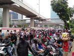 Tak Terima Pernyataan Yasonna Laoly, Massa Tanjung Priok: Badan Kami Kotor, tapi Kami Bukan Kriminal