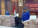 Penampakan Tumpukan Uang Senilai Rp 97 Miliar Hasil Korupsi Honggo Wendratno yang Disita Kejagung