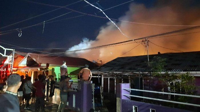 Tidak Berselang Lama, Kebakaran Rumah di Kampung Wisata Pesisir Dumai Kembali Terjadi