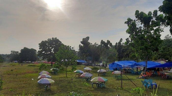Diduga Jadi Tempat Mesum, Tenda Ceper di Sekitar Stadion Utama Riau Diangkut Satpol PP Pekanbaru