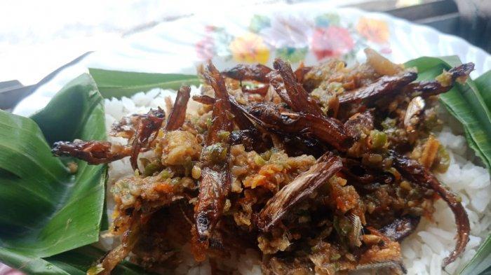 Nasi bakar salai sambal jogja di Nasi Bakar Jogja
