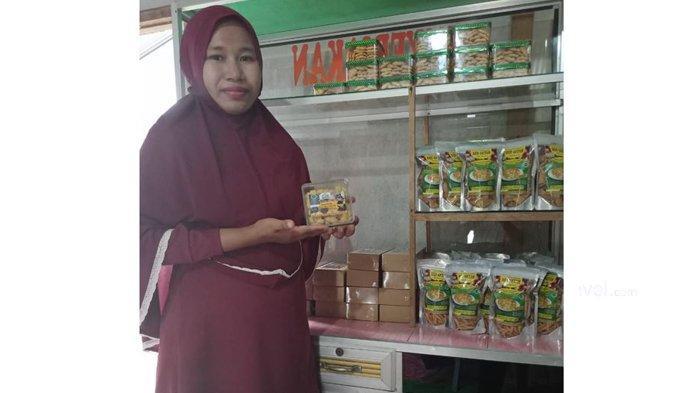 Jadi Oleh-oleh Untuk Jokowi Saat ke Bengkalis, Ini Keistimewaan Kuliner Olahan Biji Getah Milik Dewi