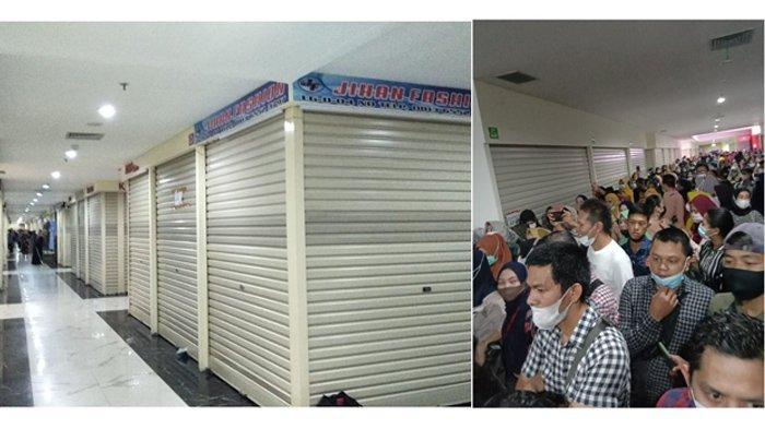 Pedagang STC Pekanbaru Gelar Demontrasi, Kompak Tutup Toko Sebagai Bentuk Protes ke Pengelola