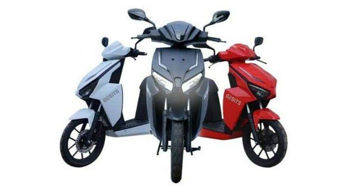 Sepeda motor listrik Gesits 3