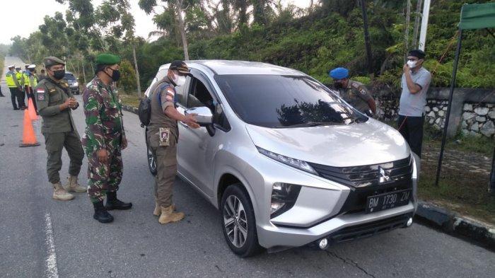 Meski Pos Penyekatan Pelalawan Berakhir, Namun Satgas Covid-19 Tetap Galakkan Operasi Yustisi Prokes