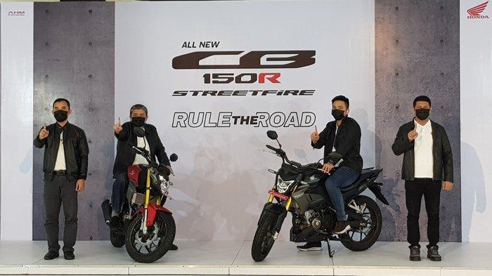 Usung Desain Big Bike, Ini Harga All New CB150R Streetfire yang Sudah Meluncur di Riau