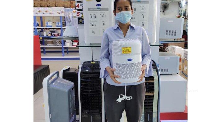Dengan Desain Cantik dan Warna Menarik, Air Purifier Toshiba Dapat Menyaring Partikel Hingga 99,7 %