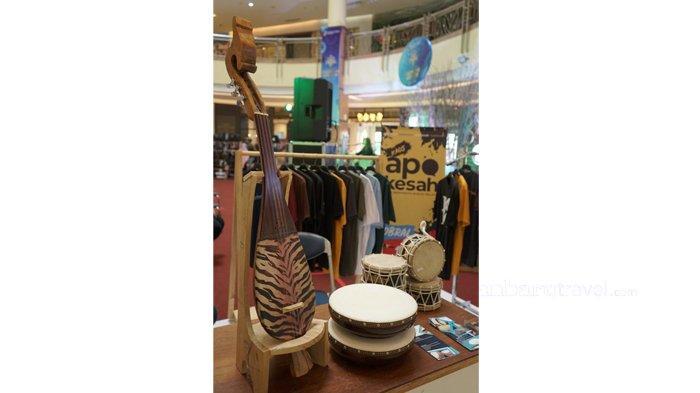 Pameran Alat Musik Khas Melayu dari BMR Meriahkan Pekanbaru Ekonomi Kreatif Fest di Mal SKA