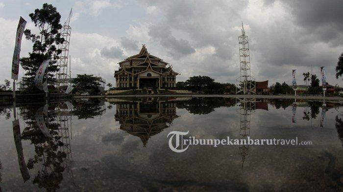 Bangun Quran Center di Kawasan Bandar Seni Raja Ali Haji,Pemprov Riau AnggarkanRp 17,9 Miliar