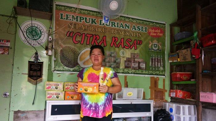Kisah Pengusaha Lempuk Durian yang Terdampak Covid-19 di Bengkalis, Balik Modal Saja Syukur