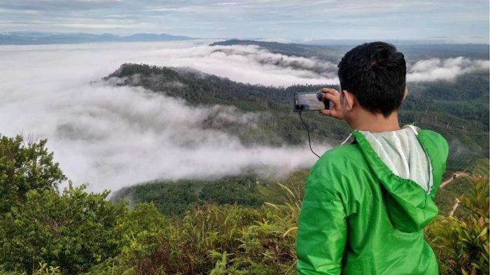 Pesona Bukit Suligi Rohul, Pengunjung Bisa Melihat Samudera Awan dari Ketinggian 812 Mdpl