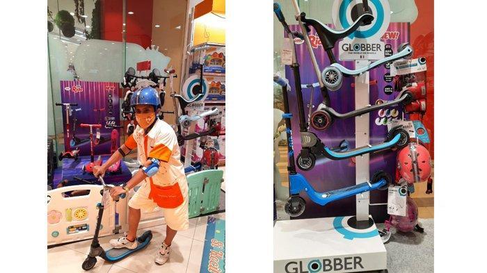 Scooter Terbaru, Globber-Go Up Sporty Kini Tersedia di Toys Kingdom Living World