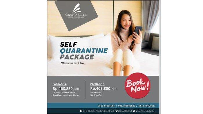 Grand Elite Hotel Hadirkan Paket Nginap Praktis