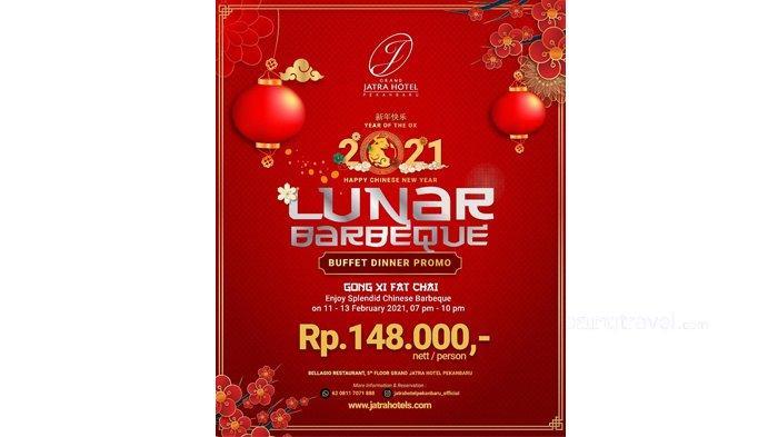Meriahkan Imlek 2572, Jatra Hotel Gelar Promo Lunar Barbeque