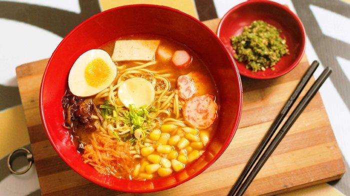 Nikmatnya Kuliner Khas Jepang di Ichi Ramen Pekanbaru, Kaldunya Direbus Nonstop