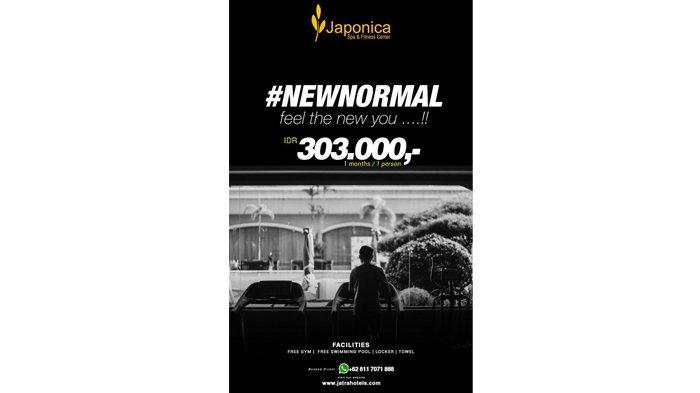 Promo Japonica SPA and Fitness di Grand Jatra Hotel Pekanbaru, Hanya Rp 303 ribu per Bulan