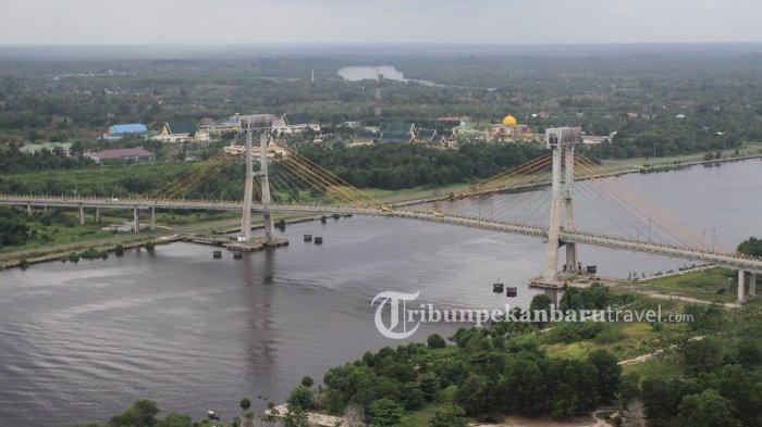 Dibenahi, Menara Jembatan Tengku Agung Sultanah Latifah Siak Akan Menjadi Destinasi Wisata Baru