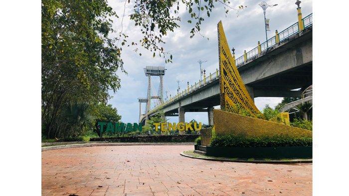 Lift Jembatan TASL Dibenahi, Oktober 2021 Pengunjung Bisa Melihat Kota Siak dari Ketinggian 76 Meter