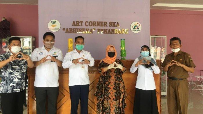 Balai Anak Rumbai Jajaki MoU Bersama Pemerintah Kabupaten Sijunjung Sumatera Barat