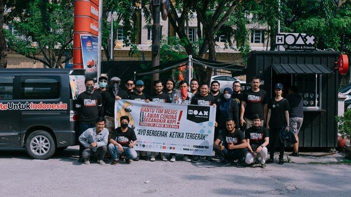 UMKM Milenial Gagas Donasi Kopi Untuk Tenaga Medis Covid-19 di Pekanbaru
