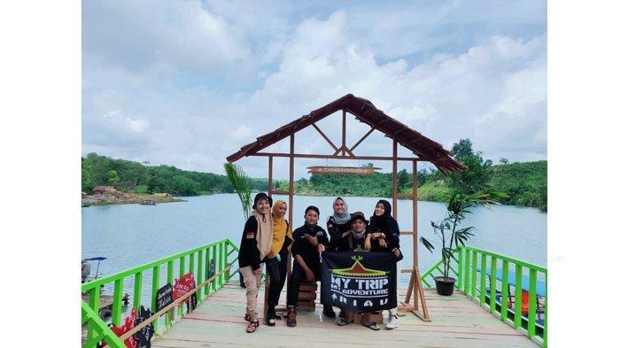 Gelar Kopdargab, MTMA Riau Promosikan Objek Wisata Danau Kembar Kabupaten Inhu