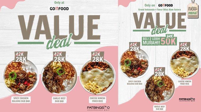 Ingin Beli Masakan Korea di Patbingsoo Mal SKA, Pakai GoFood Saja