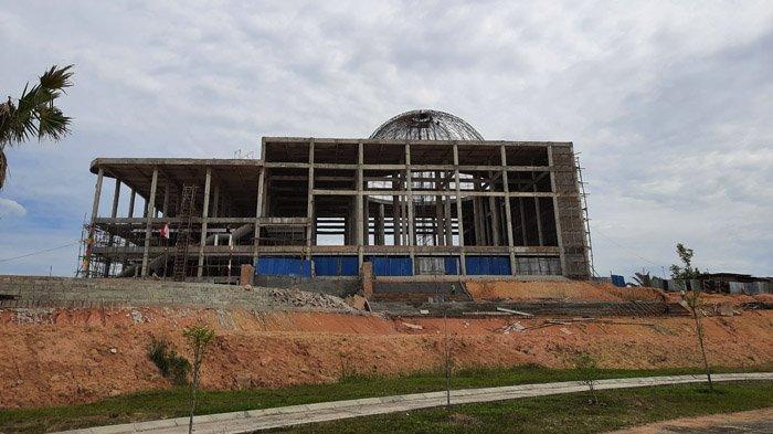 Pembangunan Islamic Centre Kota Pekanbaru Sudah Capai 60 Persen