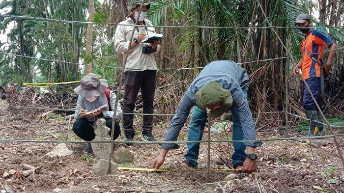 Makam dan Bangunan Bersejarah Ditemukan di Desa Temiang Bengkalis, Inilah Hasil Penelitian Awalnya