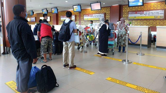 Cegah Penularan Covid, Bandara SSK II Pekanbaru Terapkan Konsep Biosecurity Management