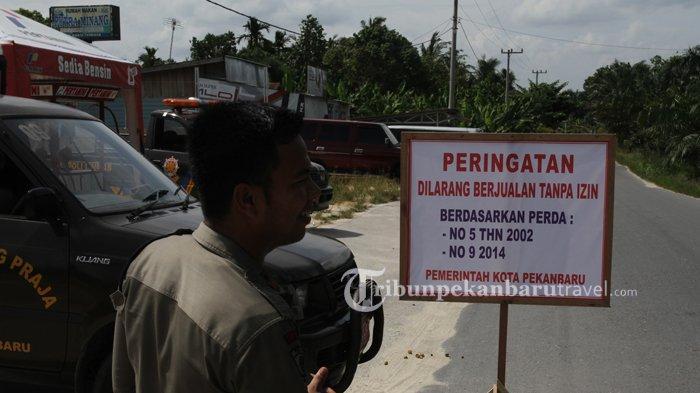 Dinas Perindustrian dan Perdagangan Tegaskan Pasar Kaget di Pekanbaru Harus Tutup
