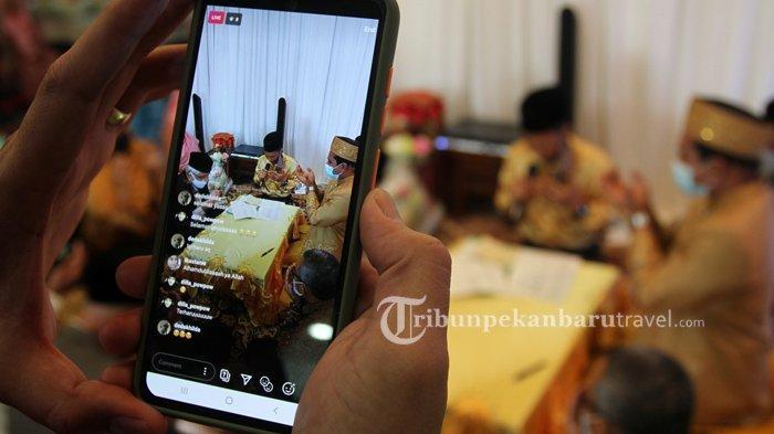 Masih Zona Merah, Acara Resepsi Pernikahan Belum Diizinkan di Pekanbaru