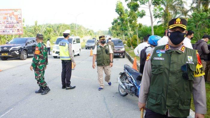 Pintu Masuk Pelalawan Dijaga, Operasi Yustisi Covid dan Posko Penyekatan Diperpanjang Hingga 31 Mei