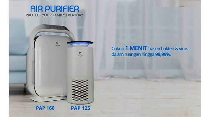 Cegah Berbagai Penyakit Berbahaya Karena Udara Kotor dengan Polytron Air Purifier