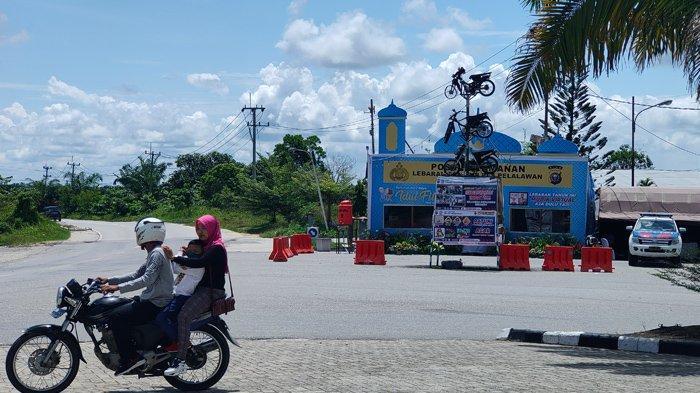 Hari Kedua Lebaran, Sejumlah Toko Mulai Buka dan Jalanan Kembali Ramai di Pangkalan Kerinci