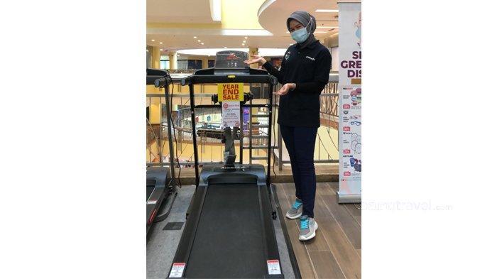Buruan, Alat Olahraga Treadmill Diskon Hingga 40 Persen di Gramedia